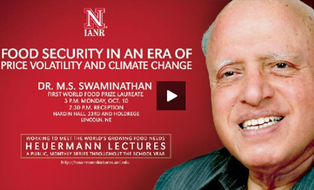 Dr. M. S. Swaminathan